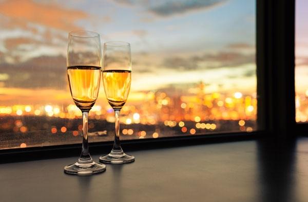 Champagne aanbieding
